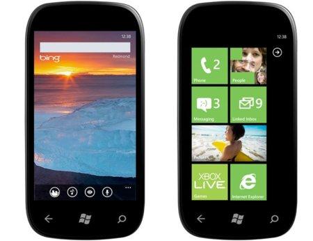 Microsoft promete teléfonos Windows Phone 7 asequibles en 2012