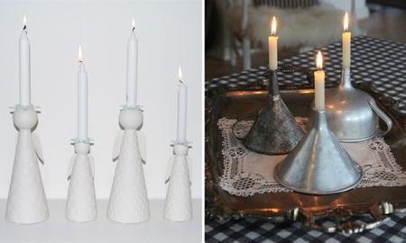 Decoración de Navidad - iluminación - candelabros