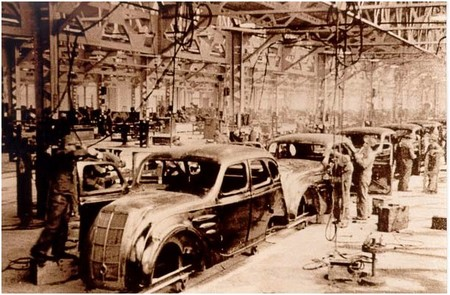 Fábrica de Toyota años 30