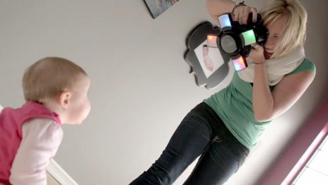 Fotografiar niños nunca ha sido tan fácil como con Looky Loo Light