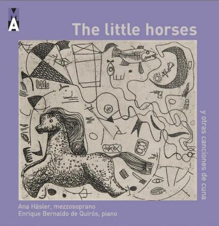 'The little horses, y otras canciones de cuna' en CD  y también en versión digital