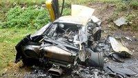 Dolorpasión™: Barbacoa de Lamborghini Murciélago tras chocar con un Aveo