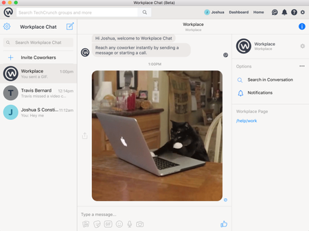 Facebook lanza aplicaciones del chat de Workplace para Windows y macOS