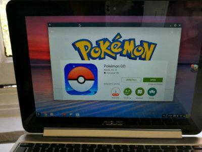 Un nuevo arma secreta de Chrome OS frente a la competencia: puedes jugar a Pokémon Go