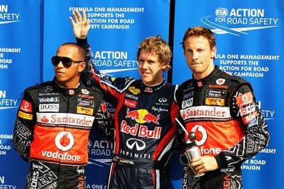 Nadie puede con Sebastian Vettel en clasificación