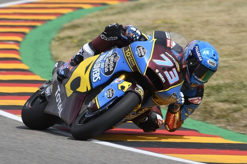 Álex Márquez brilla en Alemania para ganar y retomar el liderato de Moto2
