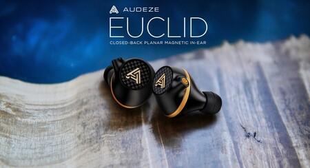 Audeze presenta Euclid, un auricular intraural con tecnología de drivers planares magnéticos y 120 dB de SPL