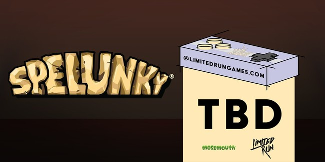 Limited Run Games Spelunky