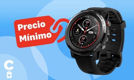 Este smartwatch vuelve a ser un chollo en Amazon: Amazfit Stratos a precio mínimo por 119,99 euros sólo hasta esta noche