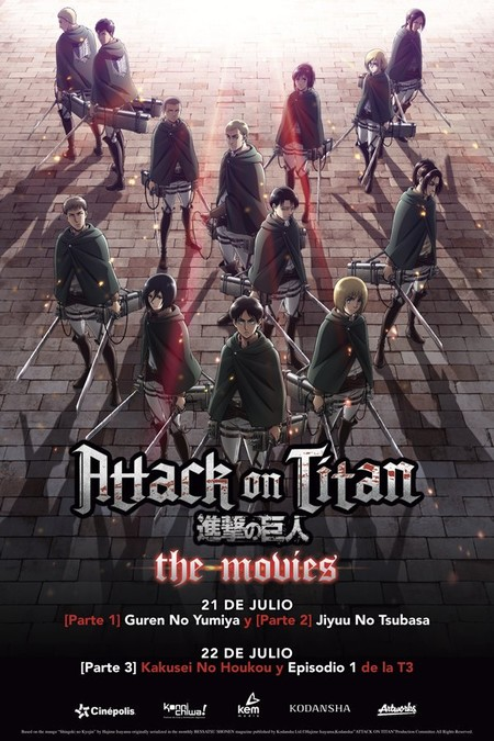 Attack On Titan Peliculas Mexico Cinepolis