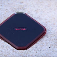 Este es el Sandisk Extreme 510, un SSD a prueba de agua