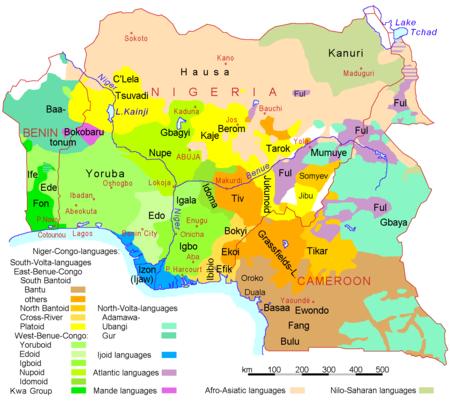 Nigeria Benin Camerun