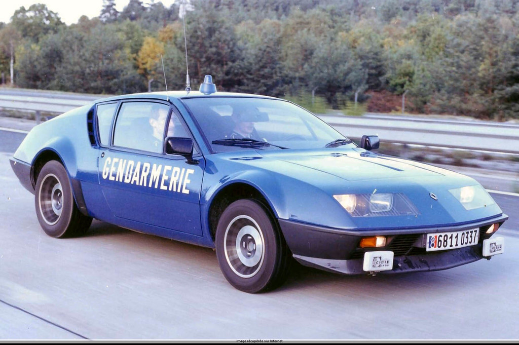 Alpine A310 Gendarmerie