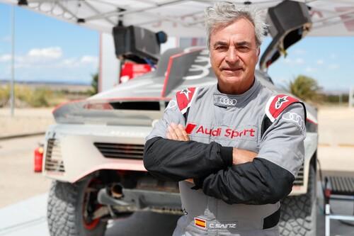 """Carlos Sainz, ante el desafío de conquistar el Dakar en un Audi electrificado: """"Es un gran reto tecnológico"""""""