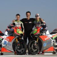 Aprilia Racing Team Gresini presenta sus colores de guerra