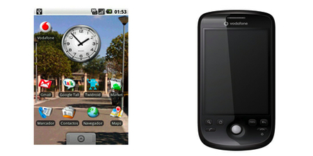 HTC Magic para empresas con Vodafone