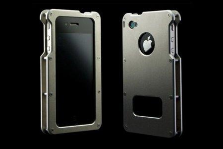 Type 01, carcasa para iPhone 4 hecha en aluminio