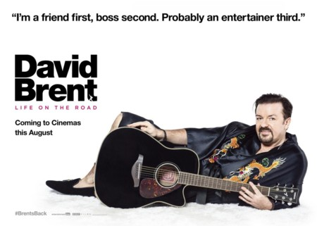 Cartel de David Brent: Life On The Road