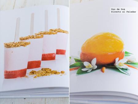 Helados, caprichos muy fríos para todos los gustos. Libro de recetas