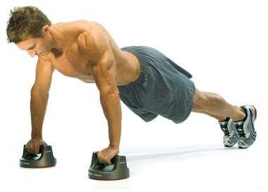 Flexiones y abdominales después de correr