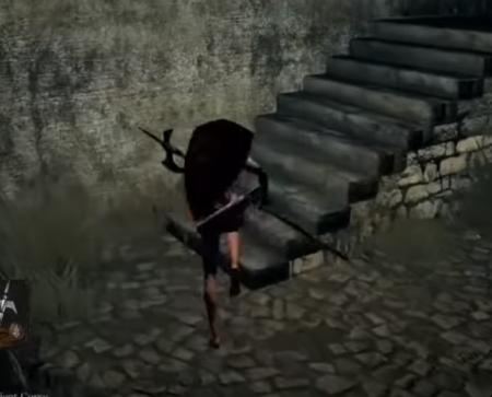 Escalera no-hit dark souls guía