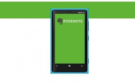 Evernote actualizado para Windows Phone, mejor navegación y transcripción de notas