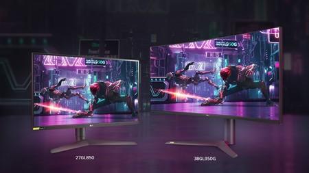 Lg Ultragear Monitor27gl850 38gl950g