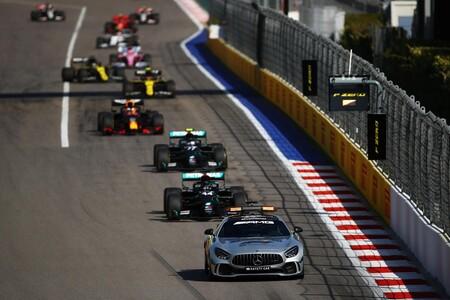 Mercedes Rusia F1 2020