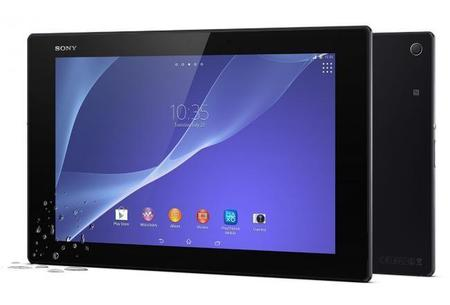 Sony Xperia Z2 Tablet vs su competencia