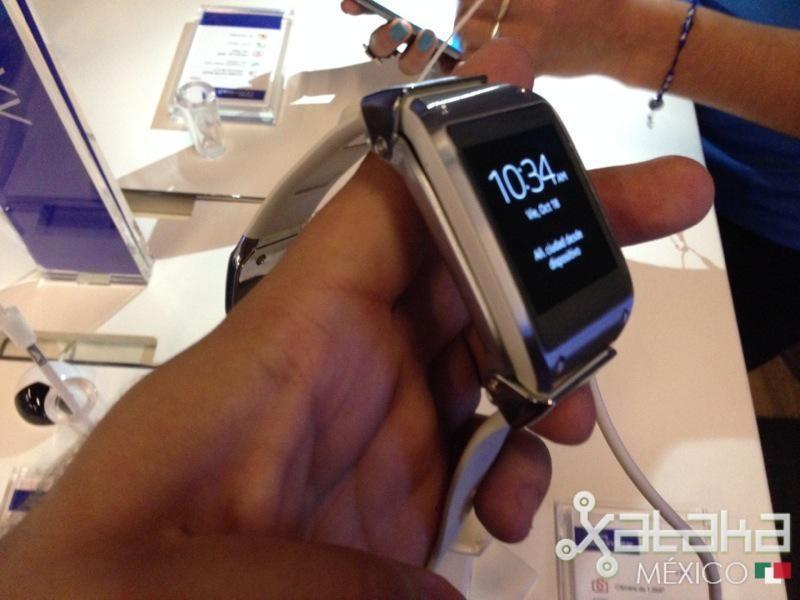 Foto de Samsung Galaxy Gear en México (4/12)