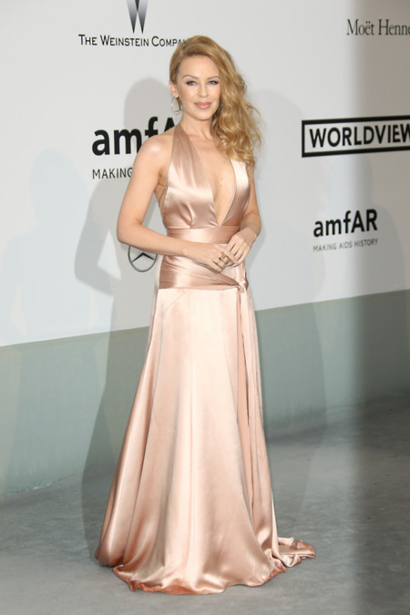 Kylie Minogue amfar Cannes 2014
