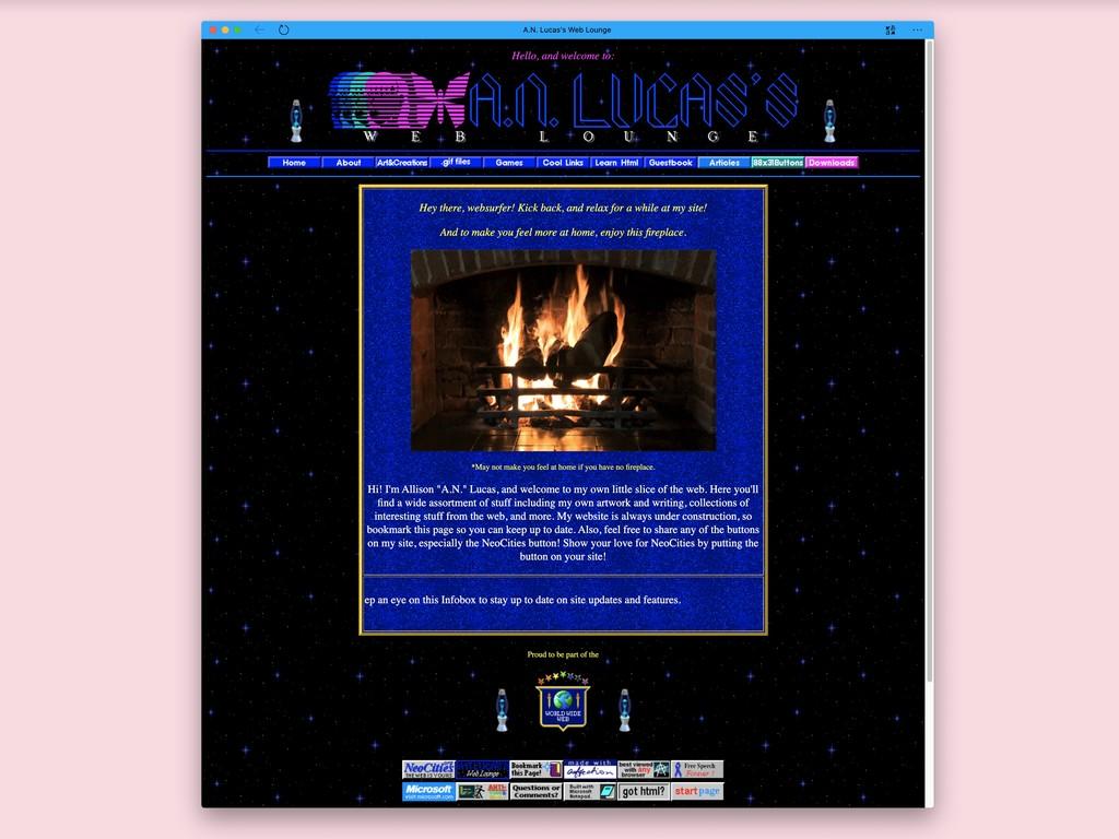 Neocities: este sitio para crear webs gratis es todo un homenaje a Geocities y su icónico diseño noventero