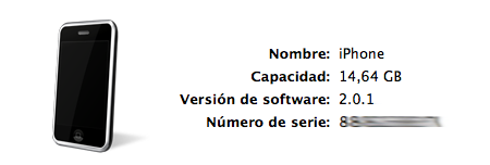 Firmware 2.0.1 disponible para el iPhone e iPod touch