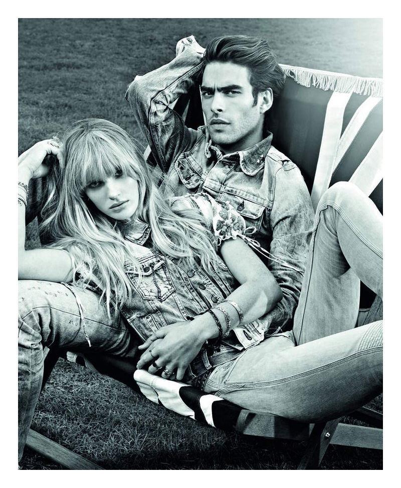 Foto de Pepe Jeans, campaña Primavera-Verano 2010: con Jon Kortajarena y Anne Vyalitsyna (1/5)