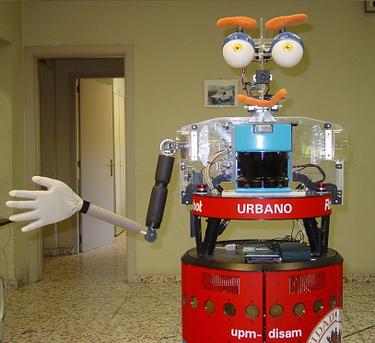Urbano, el robot cuentacuentos