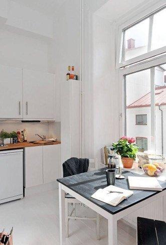 Vista de la cocina.