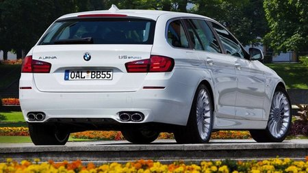BMW Alpina B5 Biturbo Touring, también para Ginebra