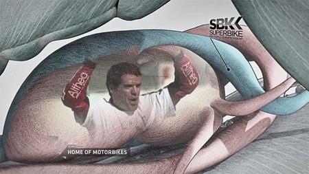 Corazón y alma de las motos, promo de British Eurosport para la temporada 2012