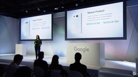 Nexus Protect: Google quiere que asegures con ellos tu nuevo smartphone