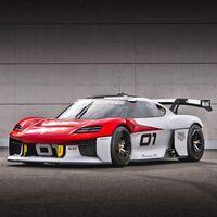 """Mission R: el deportivo eléctrico de Porsche que transmitirá las carreras en vivo mientras los espectadores le dan """"Me gusta"""" al piloto"""