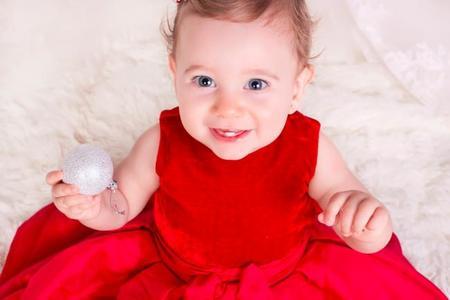 La foto de tu bebé: Leire en Navidad