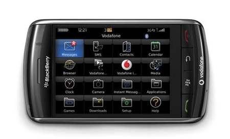 Blackberry Storm 9500, disponible ya con Vodafone