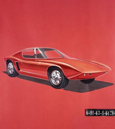 Primeros bocetos Ford GT40