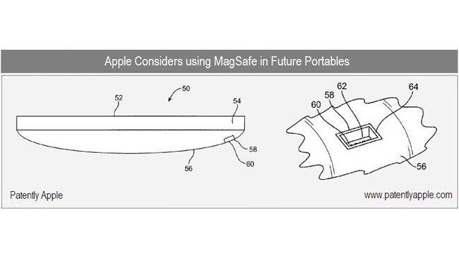 apple patente magsafe ipad iphone