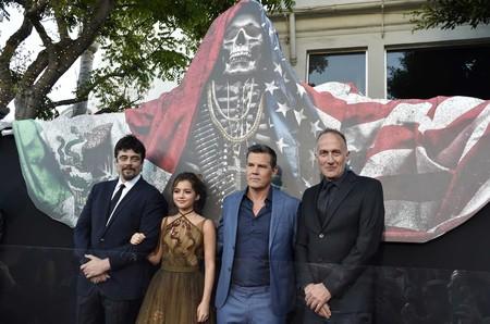 Benicio Del Toro, Isabela Moner, Josh Brolin y Stefano Sollima