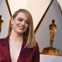 Oscars 2018: Emma Stone o cuando en la sencillez está el gusto