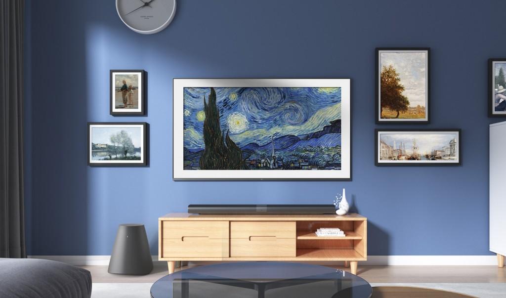 Xiaomi lanza su Mi Mural TV, competidora de Samsung® The Frame y mas recientes televisores 4K HDR de inclusive 65 pulgadas