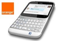 HTC ChaChaCha con tecla facebook desde 0 euros con Orange