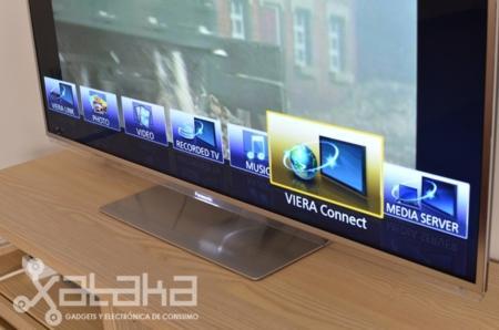 Panasonic Smart Viera interfaz principal