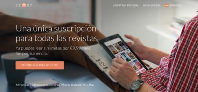 Ztory, el Spotify de las revistas, aterriza en España